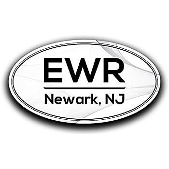 Amazon Com More Shiz Ewr Newark New Jersey Airport Code Decal