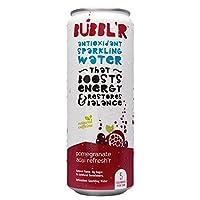 BUBBL'R Antioxidant Sparkling Water, Pomegranate Acai, 144 Fluid Ounce