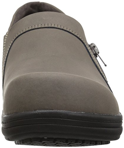 Easy Works Women's Bentley Health Care Professional Shoe, Grey Nubuck, 7.5 W US by Easy Works (Image #4)