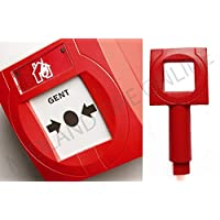 Gent Honeywell Red S4-34899 Call Point Test Key x5 by Midland Fire On-Line