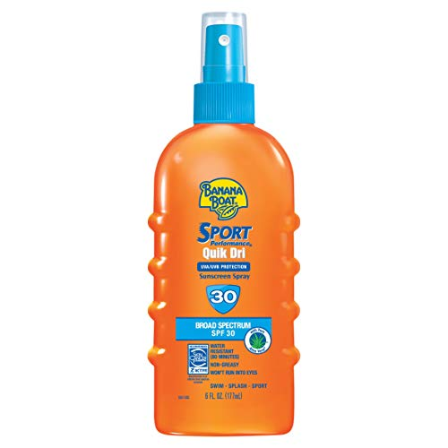 Banana Boat Quik Dri Sport Scalp Sunscreen Spray SPF 30 6 OZ - Buy Packs and SAVE (Pack of - Sunscreen Scalp Hair