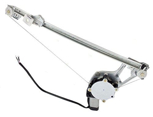Price comparison product image AUTOPA 1247300346 Rear Left Driver Side Window Regulator with Motor for Mercedes W124