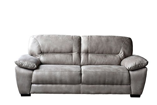 Avanti Taupe Soft-Touch Fabric Sofa by Diamond Sofa - # AVANTISOTA by Diamond Furniture