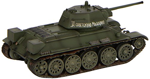 Easy Model 1:72 Scale T-34/76 Model 1943 Autumn Model Kit