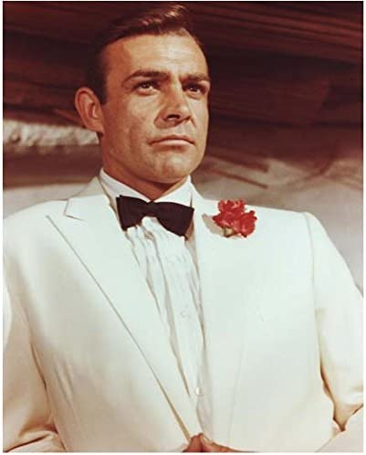 Sean Connery As James Bond Seated In White Tux 8 X 10 Inch Photo At Amazon S Entertainment Collectibles Store