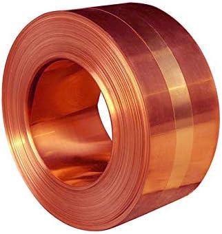 MHUI Koper Sheet Metal Cu metalen plaat Foil Plate ideaal voor architectonische toepassingen 01mmx5mmx1m
