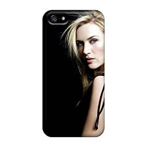 For Iphone 5/5s Phone Cases Covers(kate Winslet Actress Celebrity Blonde Hair)