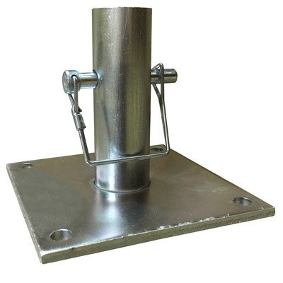 Pro Series Steel Scaffold Base Plate (Set of 4)