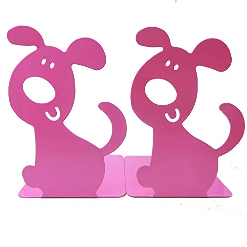 1Pair Luxury Art bookend Lovely Puppy Dog Bookends Gift Kids ()