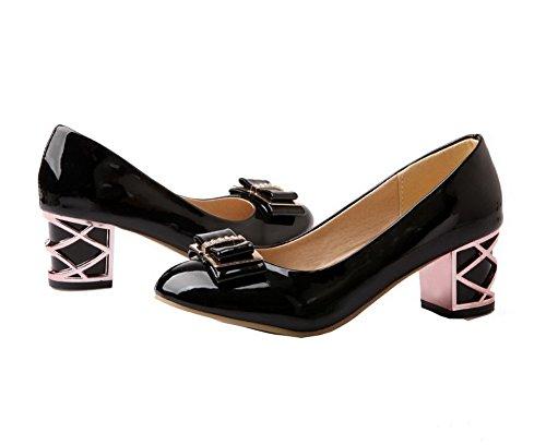 Couleur Tsfdh004363 Chaussures Aalardom Noir Légeres Verni Unie Femme TwxZfS