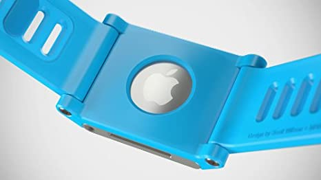 Amazon.com: LunaTik TikTok Watch Wrist Strap for iPod Nano 6G - Cyan: Electronics