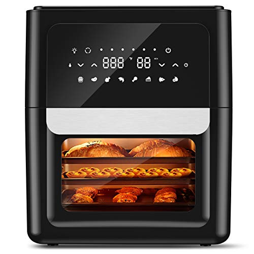 Amazon.com: Air Fryer Oven 13QT XXXL with 41 Recipes, 360