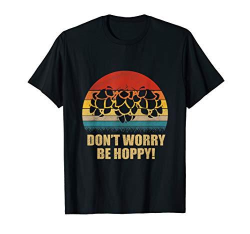Don't Worry, Be Hoppy Craft Beer Vintage T-Shirt (Boppy Best Latch Nursing Pillow Uk)