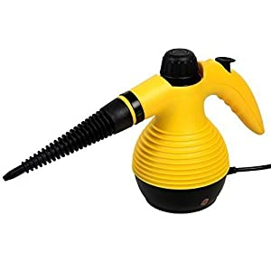 Muktat_ Steam Cleaner Portable Multifunction Steamer Household 1050W W/Attachments New
