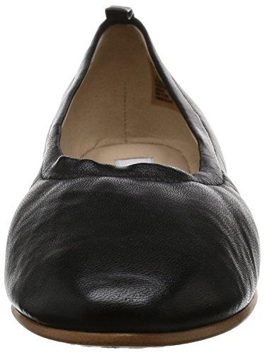 Grace Mia Leather Clarks black Ballerines Femme Noir xCndwOn