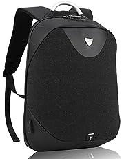 Mochila Portátil para Hombres - Arctic Hunter Mochila Antirrobo Impermeable para Portátil Multiusos Daypacks con Puerto de Carga USB