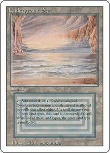 Magic: the Gathering - Underground Sea - Revised Edition by Magic the Gathering