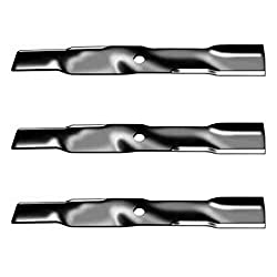 (3) M113518 Replacement John Deere Mulching Blades