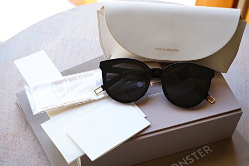Gentle Monster Sunglasses Black Peter New Model (Black, - Sunglasses New Model