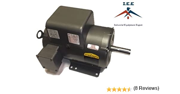 new baldor 5 hp 1 ph air compressor electric motor 184t fr 230v new baldor 5 hp 1 ph air compressor electric motor 184t fr 230v same as l1430t amazon com industrial scientific