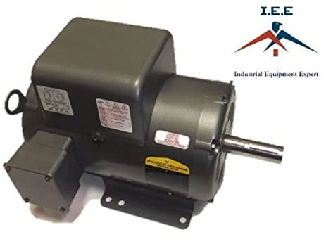 Amazon 5 hp 1 phase industrial baldor electric motor 184t 5 hp 1 phase industrial baldor electric motor 184t frame l8430t 230 volt sciox Image collections