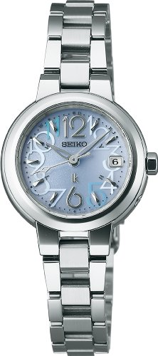 SEIKO LUKIA Water resistant radio-corrected super clear coating sapphire glass solar Women's watch SSVW017 [Japan Import]