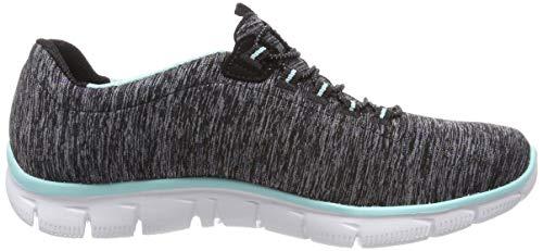 Ya Noir black Skechers see Bktq Baskets Femme Empire Turquoise TPWq6ScB