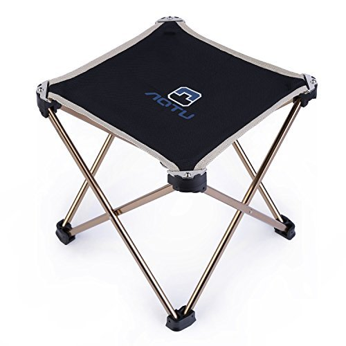 OUTAD outdoor chair Square chair folding aluminum frame ultra-light compact storage
