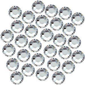 50 pcs - Swarovski Hotfix Flatback Rhinestone #2028 Xilion Rose ss9 Crystal … ()