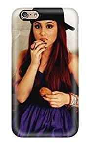 Excellent Iphone 6 Case PC Cover Back Skin Protector Ariana Grande(3D PC Soft Case) by ruishername