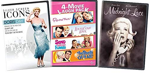 Doris Day Movies on DVD Ultimate 9 Movie Collection Set - Calamity Jane / Love Me or Leave me / Midnight Lace / Pillow Talk / Lover Come Back / Send me no Flowers / The Thrill of It All / Please Dont