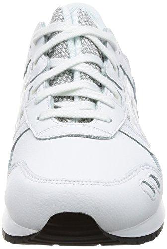EU Adulto Zapatillas White III Lyte Gel Asics Unisex Blanco 38 White vZFfqcRw