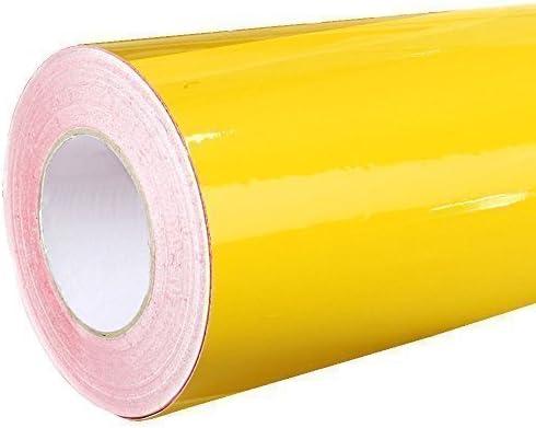 Dekofolie 4,41 /€//m/² Rapid Teck/® Glanz Folie 000 Transparent Klebefolie 5m x 63cm auch als Moebelfolie selbstklebende Folie Plotterfolie