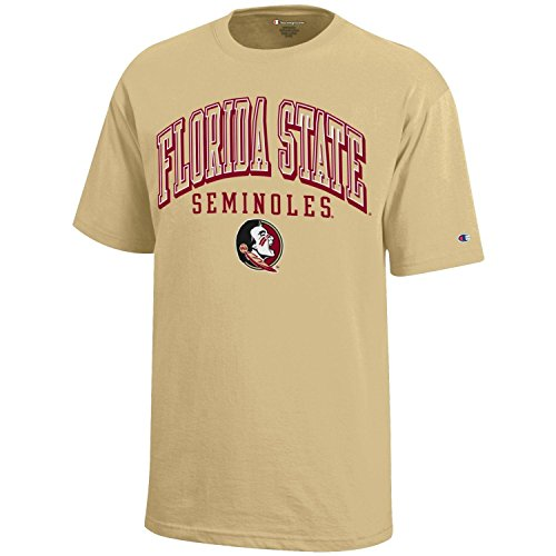 NCAA Champion Boy's Short Sleeve Jersey T-Shirt Florida State Seminoles X-Large