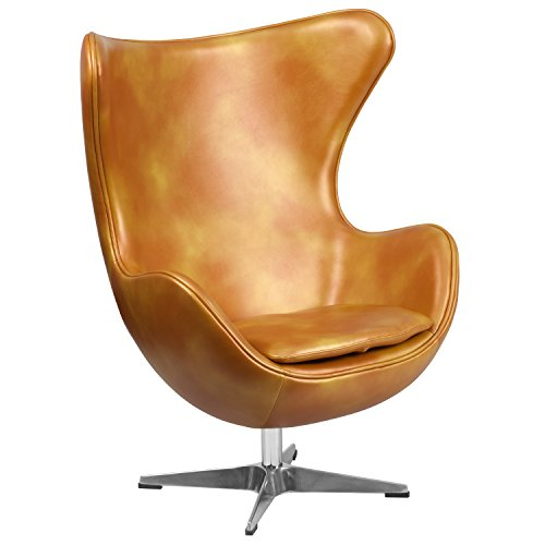 gold-leather-egg-chair-with-tilt-lock-mechanism