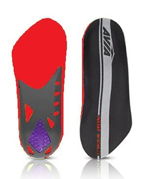 709e8282b8 Image Unavailable. Image not available for. Color: Avia Pain Relief Plantar  Fasciitis Orthotic Insole ...