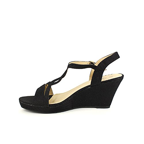 Noir Chaussures Noire Femme Compensée Cendriyon Me Cinks PwnUpqqfZx