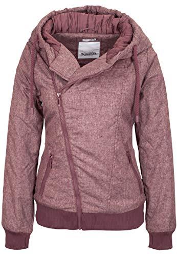 Sublevel Damen Winter-Jacke mit Kapuze warm gefüttert