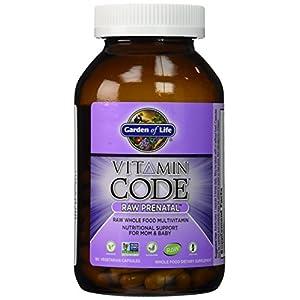 Garden Of Life Vitamin Code Raw Prenatal 180 Veggie Capsules