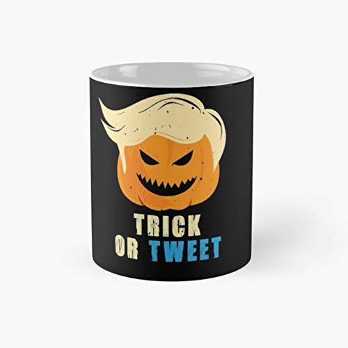 Creep Funny Trick Or Tweet Halloween 11 Oz Coffee -
