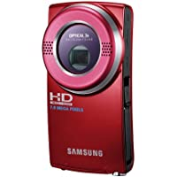 Samsung HMX-U20 Ultra-Compact Full-HD Camcorder (Red) (Discontinued by Manufacturer)