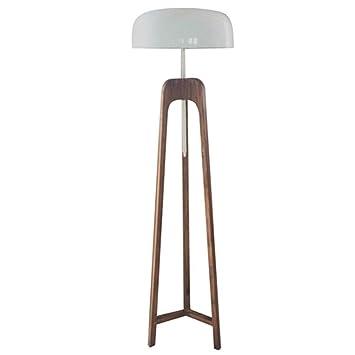 Seta de madera Creativa Simple Lámpara de pie moderna ...