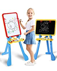 STEAM Life Art Easel for Kids | 4 in 1 M...