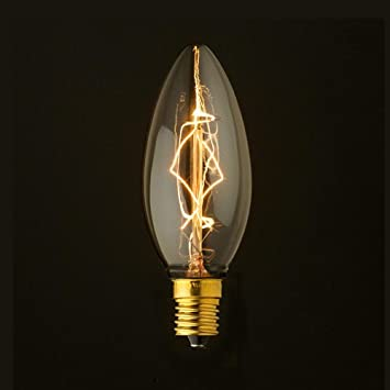 Amazon edison bulb chandelier edison bulb chandelier 25w e17quot mozeypictures Gallery