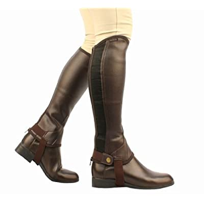 Saxon. Equileather Half Chaps: Clothing