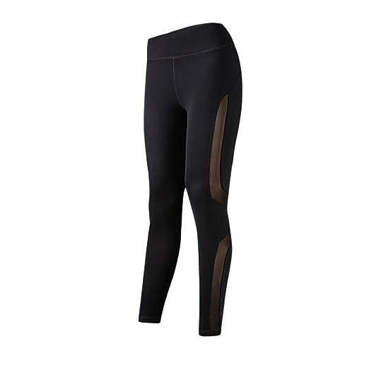 PFSYR Pantalones de Yoga para Mujer Pantalones de Yoga Nueve ...