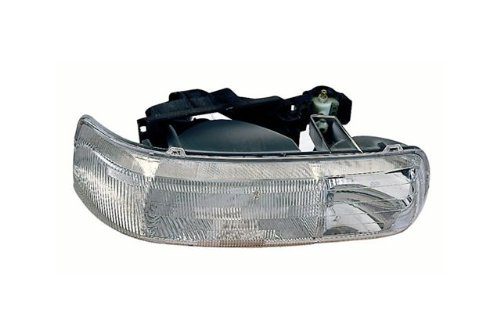 Side Passenger Design (CHEVY PICK UP SILVERADO | CHEV PICK-UP FULL-SIZE NEW DESIGN HEAD LIGHT ASSEMBLY RIGHT (PASSENGER SIDE) 1999-2002)
