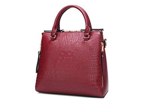 f1ab539a2d465 Taschen Damen Leder 2018 Neu Elegant Große Handtasche Europäische stil  Schultertaschen Umhängetasche Shopper Tasche Henkeltasche Beuteltasche ...