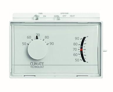 Supco 43004 A horizontal mecánico termostatos de calefacción ...