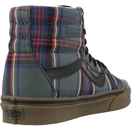negro hi Sk8 Zapatos Vans Tartan Reissue Ua x8qZ0CwY